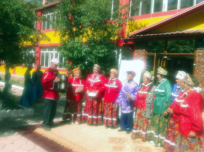 We organized the Kyrgyz ethnic festival and we often organize various activities.
